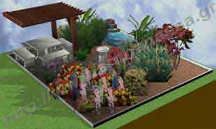 _Garden creation and construction.